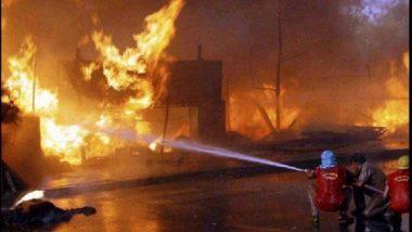 डोंबिवलीत एमआयडीसीतील गोदामाला भीषण आग, मोठ्या प्रमाणावर झाली वित्तहानी