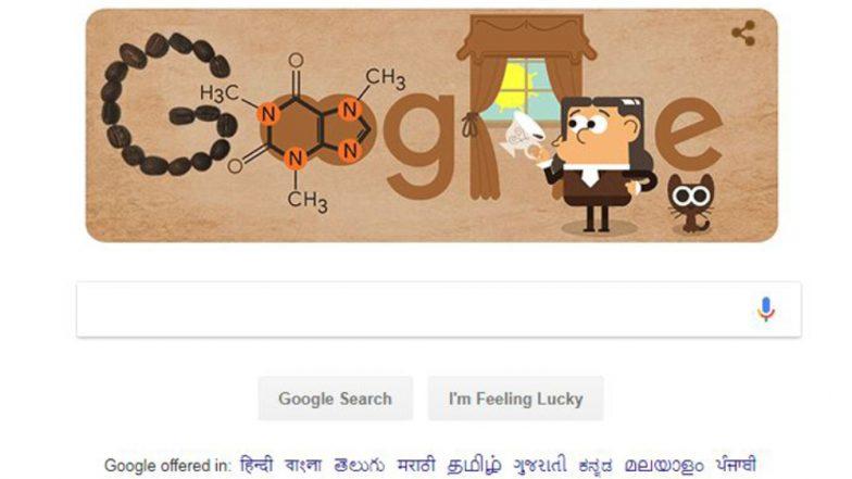 Friedlieb Ferdinand Runge:जगाला कॅफेन भेट देणारे रसायनशास्त्रज्ञ फ्रेडलिब फर्नेन रंज यांच्यावर खास Google Doodle