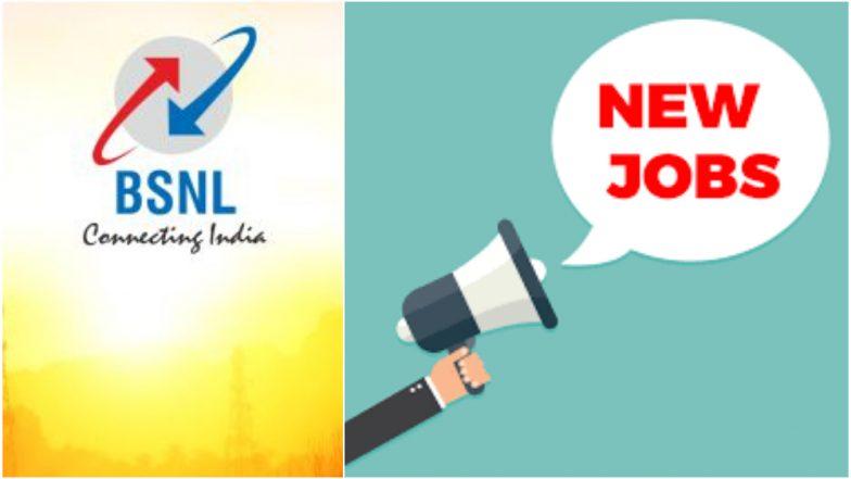 सरकारी नोकरी: BSNL कर्मचारी भरती, मासिक पगार 16400 ते 40500 रुपये; पात्रता, अर्जाची शेवटची तारीख घ्या जाणून