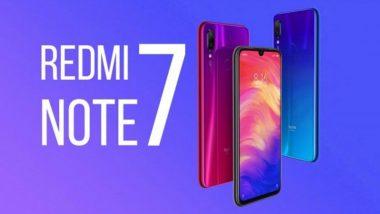 भारतात आज लॉन्च होणार 48MP असणारा Redmi Note 7 स्मार्टफोन