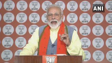 'महासंवाद' कार्यक्रमामधून पंतप्रधान नरेंद्र मोदी यांनी केला जवानांच्या कामगिरीला सलाम