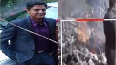 जम्मू-काश्मीर: बडगाम येथे हेलिकॉप्टर कोसळून महाराष्ट्रातील पायलट निनाद मांडवगणे यांचा मृत्यू