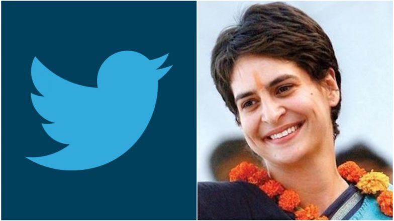 काँग्रेस सरचिटणीस प्रियंका गांधी यांची ट्विटरवर एण्ट्री, पाहा कोणाला करतात फॉलो