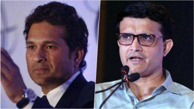 ICC World Cup 2019 मध्ये भारत विरूद्ध पाकिस्तान सामन्याबद्दल सौरव गांगुलीने दिलेल्या खुलाश्यावर सचिन  तेंडुलकरची प्रतिक्रिया