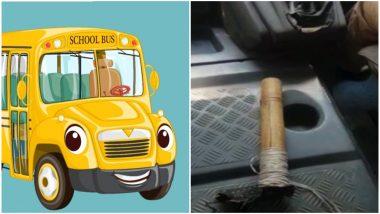 मुंबई: नको त्या ठिकाणी बांबू लावल्याने स्कूलबसला अपघात; विद्यार्थ्यांचा जीव धोक्यात