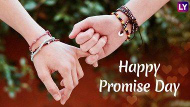 Promise Day 2019: व्हेलेंटाईन वीक मधील 'प्रॉमिस डे'चं सेलिब्रेशन का आणि कसं असतं?