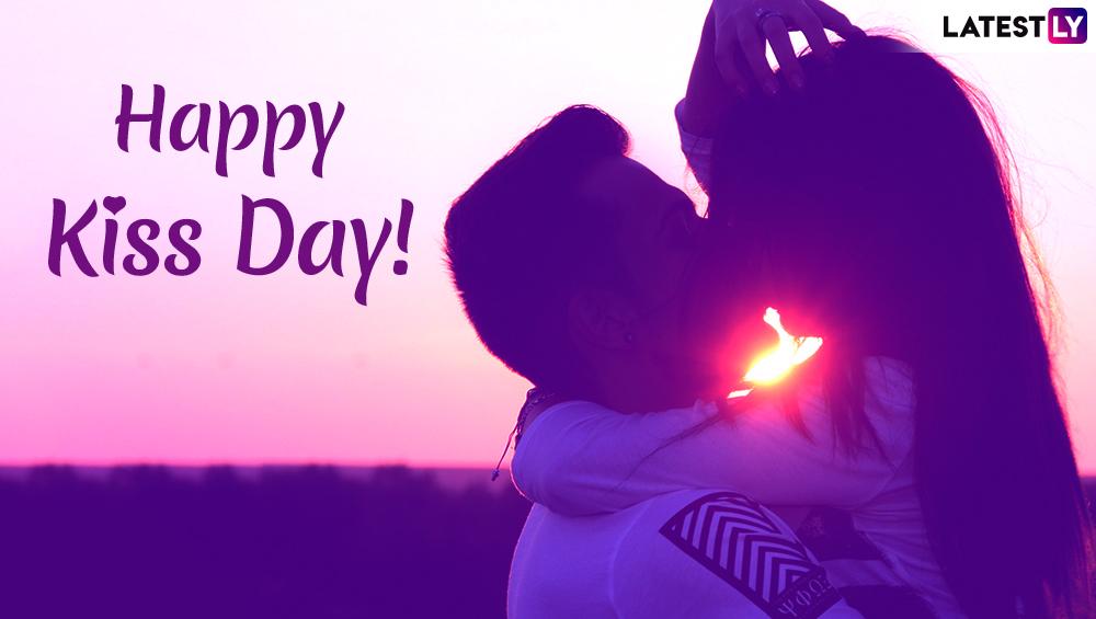 Happy Kiss Day 2019: 'किस डे'च्या शुभेच्छा देण्यासाठी मराठी Romantic Quotes, Greetings, GIF Images,WhatsApp Messages,SMS