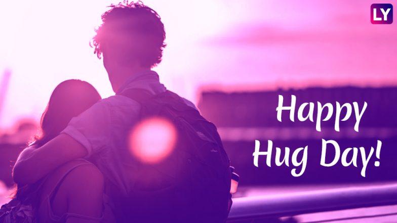 Happy Hug Day 2019: 'हग डे'च्या दिवशी ही  Romantic Greetings, GIF Images,WhatsApp Messages,SMS शेअर करून साथीदाराला द्या जादूची झप्पी