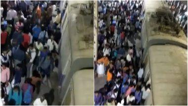 मुंबई: हार्बर रेल्वे सेवा विस्कळीत, मध्य रेल्वे वाहतुकीवरही परिणाम; मुंबईकरसंतप्त