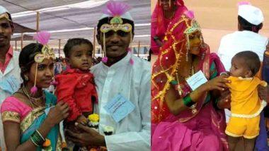 भाजप खासदाराचा पराक्रम: सामुदायिक विवाहसोहळ्यात लग्न झालेल्या जोडप्यांचे लग्न; अल्पवयीन मुलगाही चढला बोहल्यावर