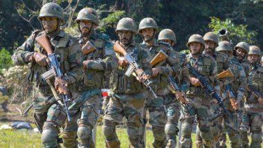 जम्मू कश्मीर: बारामूला येथील सोपोर परिसरात सुरु असलेल्या चकमकीत एका दहशतवाद्याचा खात्मा