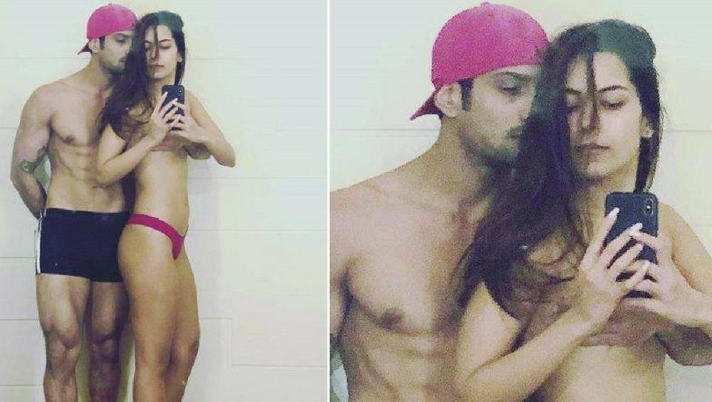 पत्नी सान्या सागर सोबत 'प्रतिक बब्बर'चा बोल्ड अवतार; शेअर केला Topless Photo