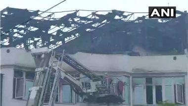 दिल्लीत अर्पित पॅलेसला लागलेल्या आगीतील मृतांचा आकडा 17 वर पोहचला, अन्य नागरिकांसाठी बचाव कार्य सुरु