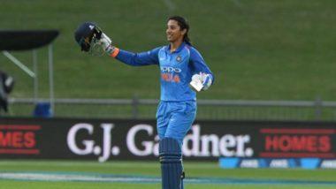 महाराष्ट्राची स्मृती मंधाना महिला क्रिकेटपटूंच्या ICC क्रमवारीत अव्वल