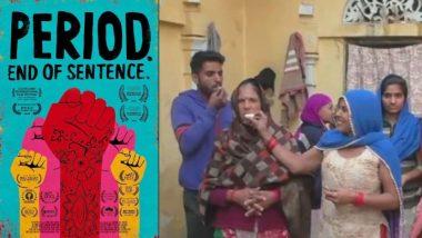 दिल्ली: ऑस्कर 2019 मध्ये 'Period End of Sentence'च्या यशानंतर मुख्य नायिका स्नेहाच्या गावामध्ये सेलिब्रेशन