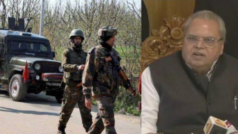 Pulwama Terror Attack नंतर जम्मू काश्मिर मध्ये तैनात केलेली अतिरिक्त कुमक निवडणुकांसाठी; राज्यपाल सत्यपाल मलिक