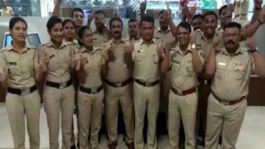Happy Valentine's Day म्हणत मुंबई पोलिस खात्याने व्यक्त केलं त्यांचं 'आगळंवेगळं' प्रेम (Video)