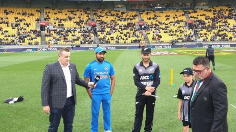 India vs New Zealand 1st T20I:  न्यूझिलंड विरुद्ध भारत पहिल्या T20 सामन्यात भारताने टॉस जिंकला, प्रथम गोलंदाजीचा निर्णय