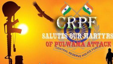 Pulwama Terror Attack: 'आम्ही ना विसरणार, ना माफ  करणार', CRPF ची शहिदांना श्रद्धांजली