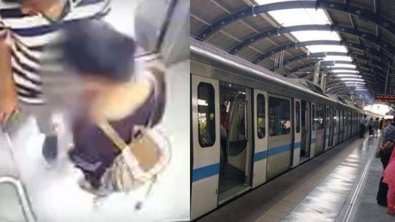 हैदराबाद मेट्रो स्टेशनच्या लिफ्टमध्ये तरूण कपल्स Kiss करताना सीसीटीव्ही कॅमेऱ्यात कैद (Viral Video)