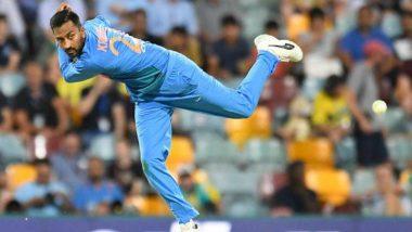 India vs New Zealand 2nd T20I:  क्रुणाल पांड्या याची चमकदार कामगिरी, 'हा' विक्रम रचणारा ठरला पहिला भारतीय गोलंदाज!