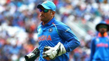 India tour of West Indies 2019: एम एस धोनी नसणार वेस्ट इंडिज दौर्यासाठी टीम इंडियाचा भाग; नाही राहिला फर्स्ट-चॉईस विकेट किपर- सूत्र
