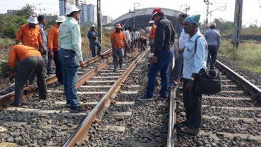 मुंबई: मध्य, पश्चिम, हार्बर लाईन मार्गावर आज मेगाब्लॉक; पहा संपूर्ण वेळापत्रक