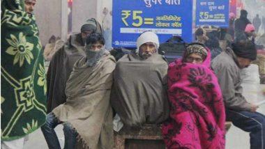 कडाक्याच्या थंडीमुळे दिल्लीसह उत्तर भारतातील 6 राज्यात रेड अलर्ट जाहीर
