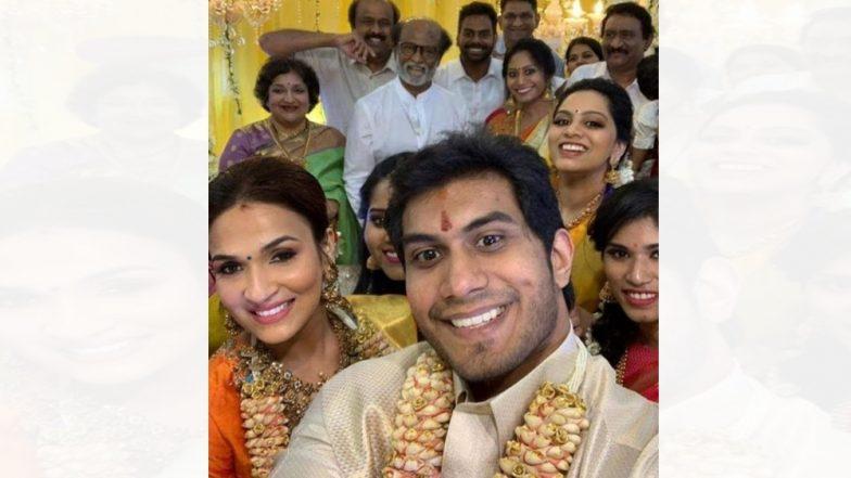 रजनीकांत यांची मुलगी 'सौंदर्या'चं दुसरं लग्न; पहा प्री वेडिंग सेलिब्रेशनचे खास फोटोज