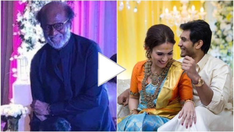 व्हिडिओ: सुपरस्टार रजनीकांत यांचा कन्या सौंदर्या हिच्या विवाहात हटके स्टाईल डान्स