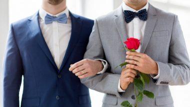 समलैंगिक जोडी पहिल्यांदाच मुंबईत लग्नबेडीत अडकली