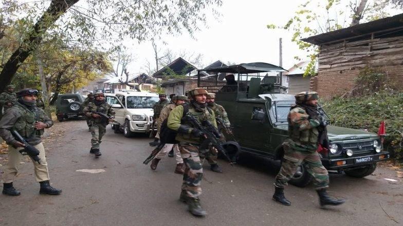 जम्मू-काश्मिर: सुरक्षादलाच्या जवानांकडून ISJK कमांडर इश्फाक सोफी याचा खात्मा