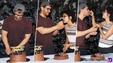 54 वा वाढदिवस आमिर खान याने पत्नी किरण राव सह असा केला सेलिब्रेट (Photos)