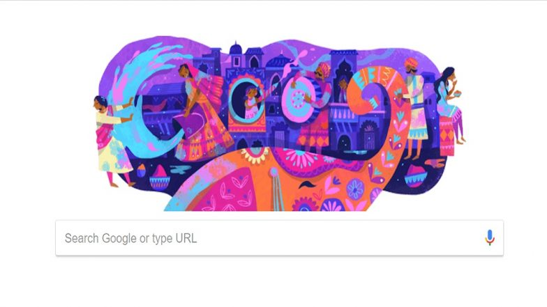 Happy Holi 2019 Google Doodle: रंगीबेरंगी डुडलसह गुगलचे होळी सेलिब्रेशन