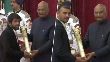 Padma Awards 2019: फ्रीस्टाइल रेसलर बजरंग पुनिया, टेबल टेनिस स्टार शरत कमल पद्म श्री पुरस्काराने सन्मानित