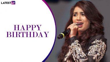 Shreya Ghoshal Birthday Special: श्रेया घोषाल हीच्या आवाजातील '5' रोमांटिक गाणी! (Videos)