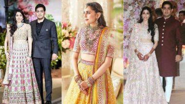 Akash Ambani-Shloka Mehta Wedding: आकाश अंबानी- श्लोका मेहता यांच्या वेडिंग सेलिब्रेशनला सुरुवात; पहा Videos