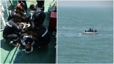 मुंबई: वरळी येथे समुद्रातबोट बुडाली, 6 जण सुरक्षीत एक बेपत्ता