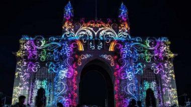 Holi 2019 in Mumbai: होळी निमित्त 'गेट वे ऑफ इंडिया'वर रंगांची उधळण; पहा लाईट शो चे खास Photos