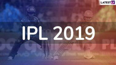 IPL 2019 Full Schedule: 23 मार्च ते 5 मे दरम्यान रंगणार्या VIVO IPL 12 चे वेळापत्रक PDF स्वरूपात पहा आणि डाऊनलोड करा; जाणून घ्या कधी, कुठे रंगणार आयपीएलचे सामने