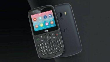 खुशखबर! आज होणार JioPhone 2 चा सेल; इथे खरेदी करू शकाल हा फोन, पहा फीचर्स