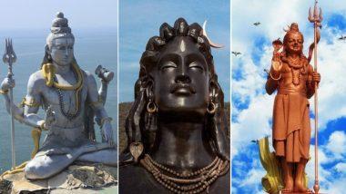 Mahashivratri 2019: भारतात 'या' ठिकाणांवर आहेत भगवान शंकर यांच्या सर्वात मोठ्या प्रतिमा
