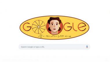 Olga Ladyzhenskaya यांच्या 97 व्या जन्मदिनी Google Doodle कडून आदरांजली