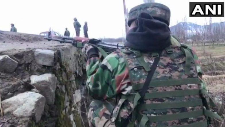 जम्मू -काश्मिर येथील चकमकीत एका दहशतवाद्याला कंठस्नान घालण्यात यश