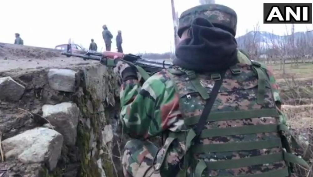 भारतीय लष्काराकडून पाकव्याप्त काश्मीर येथील दहशतवादी तळ उद्धवस्त