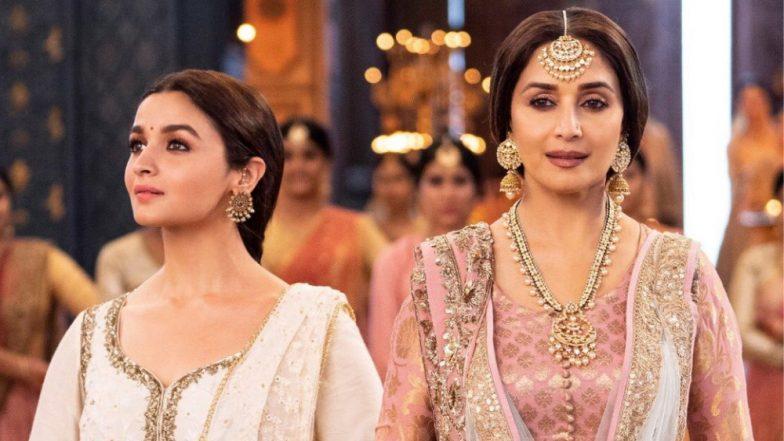 Ghar More Pardesiya: 'कलंक' चित्रपटामधील आलिया भट्ट आणि माधुरी दीक्षित यांचा अप्रतिम नृत्याविष्कार दाखवणारे 'घर मोरे परदेसीया' गाणे प्रेक्षकांच्या भेटीला