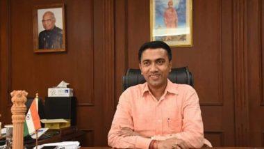 गोवा: भाजप पक्षाचे प्रमोद सावंत हे गोव्याचे नवे मुख्यमंत्री, सोमवारी रात्री उशिरा घेतली शपथ