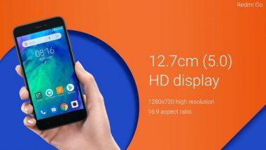Redmi Go स्मार्टफोन लॉन्च, किंमत 4500 रुपयांपेक्षा कमी