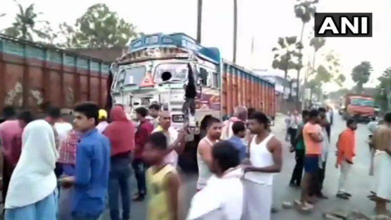 बिहार येथे भीषण अपाघत, 4 जणांचा मृत्यू तर 13 जण जखमी