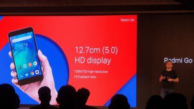आज Redmi Go स्मार्टफोन फक्त 4,499 रुपयांना ग्राहकांना खरेदी करता येणार, कंपनीची धमाकेदार ऑफर